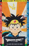 Télécarte Japon / 110-011 - MANGA - DRAGON BALL QUEST - WEEKLY JUMP PIRATES CLUB - ANIME Japan Phonecard - 10754 - Comics