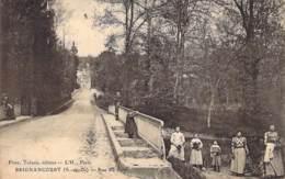 95- BRIGNANCOURT : Rue Du Pont - CPA - Val D'Oise - France