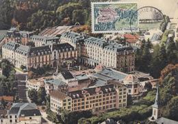 Carte  Maximum  1er  Jour    FRANCE     VITTEL     1963 - Cartes-Maximum