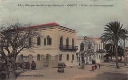 CPA Afrique Occidentale - SENEGAL - GOREE - Hôtel Du Gouvernement - Senegal