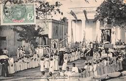 CPA Afrique Occidentale - SENEGAL - GOREE - Eglise Et Procession - Senegal