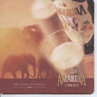 (13) SOUS BOCKS . CARTON DUR . POSAVASOS . AMARULA CREAM . ELEPHANT (NAMIBIA) - Portavasos