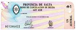 ARGENTINE - 1 Austral 31 Décembre 1987 - Série D 21346422 - P.S 2612 - UNC - Argentine