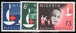 Nigeria 1963 Red Cross Centenary Unmounted Mint. - Nigeria (1961-...)