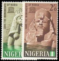 Nigeria 1964 Nubian Monuments Preservation Unmounted Mint. - Nigeria (1961-...)