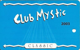 Mystic Lake Casino - Prior Lake MN - 2003 Slot Card - Casino Cards