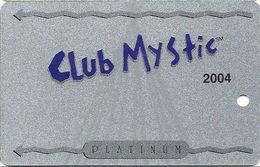 Mystic Lake Casino - Prior Lake MN - 2004 Slot Card - Casino Cards
