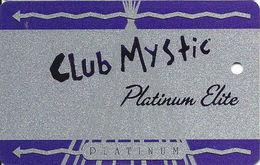 Mystic Lake Casino - Prior Lake MN - BLANK Platinum Elite Slot Card - Casino Cards