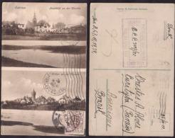 Pologne - 1922 - Schrimm - Stadtbild An Der Warthe - Villen An Der Warthe - Pologne