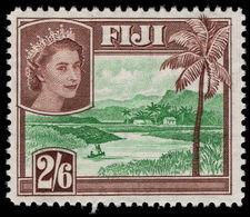 Fiji 1954-59 2s6d River Scene Unmounted Mint. - Fiji (...-1970)