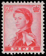 Fiji 1959-63 2d Rose-red Unmounted Mint. - Fiji (...-1970)