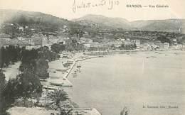 """CPA FRANCE 83 """"Bandol Sur Mer, Vue Générale"""" - Bandol"""