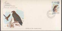 1983  Bearded Vulture 35c. Unaddressed FDC - Swaziland (1968-...)
