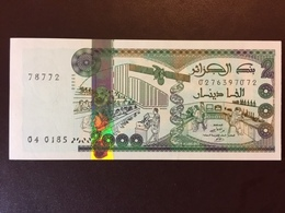 ALGERIA P144 2000 DINARS 24.03.2011 UNC - Algérie