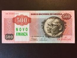 ANGOLA 500 KWANZAS 11.11.1987 UNC - Angola