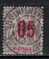 MARTINIQUE           N°  YVERT   78  OBLITERE       ( O   2/49 ) - Gebruikt