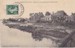 MAINE ET LOIRE SAINT FLORENT LE VIEIL LE QUAI DE LA MELLERAYE - France