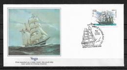 Russia/USSR 1981 Fleetwood Cachet FDC Sailing Ships,The VEGA,Very Fine !!! - Ships