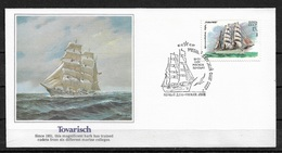 Russia/USSR 1981 Fleetwood Cachet FDC Sailing Ships,TOVARISCH,Very Fine !!! - 1923-1991 USSR