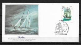 Russia/USSR 1981 Fleetwood Cachet FDC Sailing Ships,KODOR,Very Fine !!! - Ships