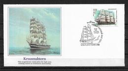 Russia/USSR 1981 Fleetwood Cachet FDC Sailing Ships,KRUZENSHTERN,Very Fine !!! - 1923-1991 USSR