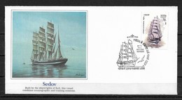 Russia/USSR 1981 Fleetwood Cachet FDC Sailing Ships,SEDOV,Very Fine !!! - Ships
