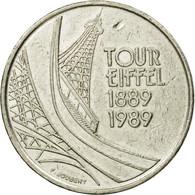 Monnaie, France, Tour Eiffel, 5 Francs, 1989, Paris, TB+, Nickel, Gadoury:772 - France