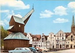Lüneburg - Der Alte Kran Mit Alten Bürgerhäusern (15) - Lüneburg