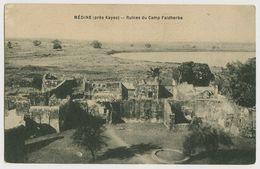 00117 - MALI - MEDINE Près Kayes - Ruines Du Camp FAIDHERBE - Mali