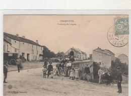 CHAMPLITTE - Faubourg De Langres  -  Timbrée 1905 - France