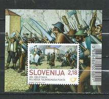 SLOVENIA 2013 The 300th Anniversary Of The Tolmin Peasant Revolt S/S  MNH - Slovénie