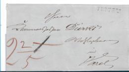Old005 / Oldenburg, Brief, Tettens 1833 Nach Varel - Oldenburg
