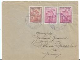 Ecu094 / Ecuador,  Brief, Ex Manta 1947 Nach Dresden (Dohna) - Ecuador