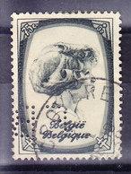 BELGIQUE, COB 491, OBL, PERFORE, PERFIN  (7B455) - 1934-51