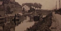 Halle (Hal)– Vue Du Canal De Charleroi Avec Péniches - Halle
