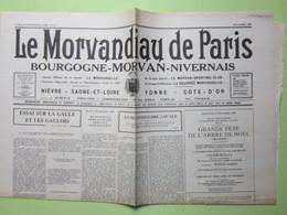 Le Morvandiau De Paris / CHEMIN DE FER NEVERS-CORBIGNY-SAULIEU / ESSAI SUR LA GAULE ET LES GAULOIS - N°671 Du 12-08/1980 - Journaux - Quotidiens