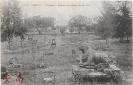 ANNAM: TOURANE- ENTREE DU JARDIN DE LA VILLE - Viêt-Nam