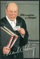 B8019 - TOP Orig. Manfred Krug - Autogrammkarte Autogramm - Autographes