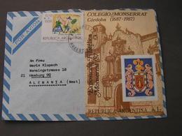 Argentina , 1987 Cv. - Briefe U. Dokumente
