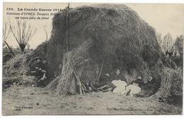 GUERRE 14 - 18 : YPRES - Troupes Belges Au Repos Près Du Front - 1915 - Guerre 1914-18
