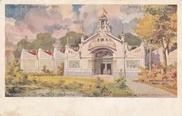 LIEGE / EXPOSITION 1905 / LES METIERS BOURGEOIS / PALAIS DE L OUTILLAGE / CARTE LITHO - Luik