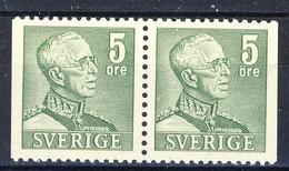 +D2899. Sweden 1941. Pair. Michel 255D. MNH(**) - Ungebraucht
