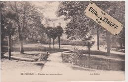 16 Cognac - Cpa / Un Coin Du Nouveau Parc. - Cognac