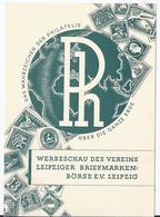 Dt.- Reich (001958) Privatganzsache Leipzig Fech PP 106/ D1/ 01, Briefmarken- Werbeschau Des Vereins Leipzig Ungebraucht - Ganzsachen