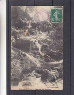 France - Carte Postale De 1912 - Oblit Malavaux - Exp Vers Heyst Sur Mer - Environs De Vichy - Cascade De Malavaux - Altri Comuni