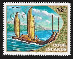 COOK ISLANDS - Scott #357 Tipairua / Mint H Stamp - Cook Islands