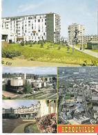 HEROUVILLE SAINT CLAIR. 2 CP Les Belles Portes - Multivues - Herouville Saint Clair