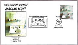 ARTE CONTEMPORANEO - ANTONIO LOPEZ. SPD/FDC Madrid 2013 - Arte