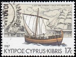 CYPRUS - Scott #692 Kyrenia II / Used Stamp - Cyprus (Republic)