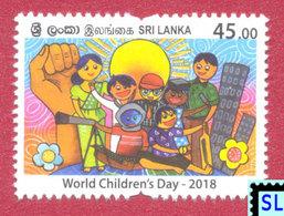 Sri Lanka Stamps 2018, World Children's Day, MNH - Sri Lanka (Ceylon) (1948-...)